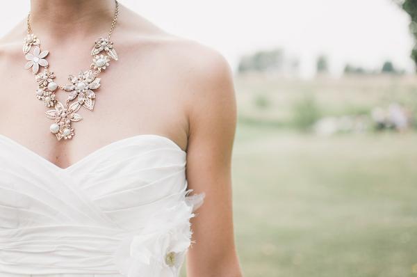 komplet biżuterii ślubnej