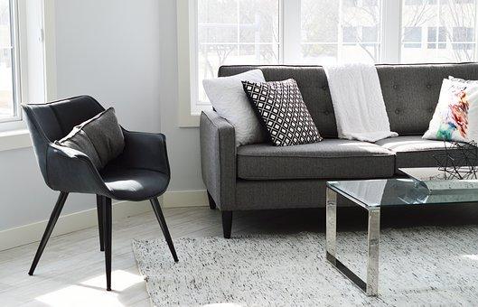 gustowne krzesła tapicerowane do salonu